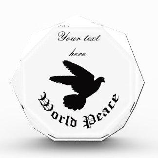 世界平和日 表彰盾
