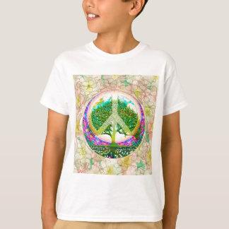 世界平和生命の樹 Tシャツ