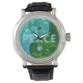 世界平和腕時計。 Yingヤン 腕時計