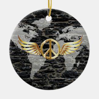 世界平和 セラミックオーナメント