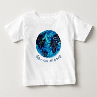 世界平和-ティー ベビーTシャツ