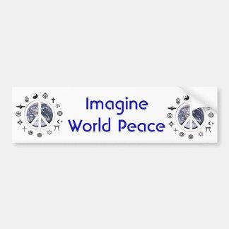 世界平和 バンパーステッカー
