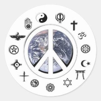世界平和 ラウンドシール