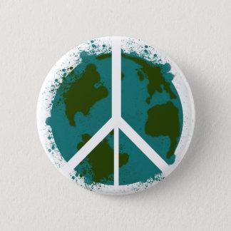 世界平和 5.7CM 丸型バッジ