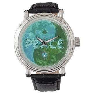 世界平和! Yingヤン! 腕時計