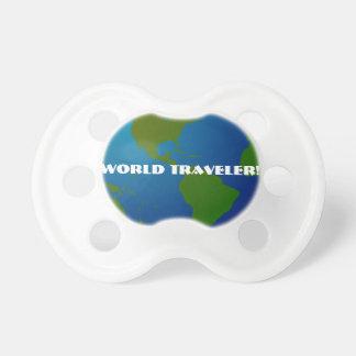 世界旅行者の地球の調停者 おしゃぶり