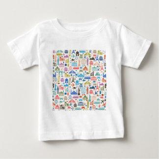 世界旅行 ベビーTシャツ