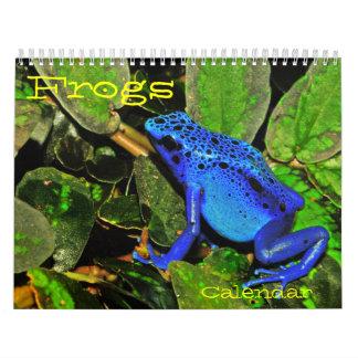 世界暦のカエル カレンダー
