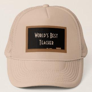 """""""世界最も最高のな先生""""の帽子 キャップ"""