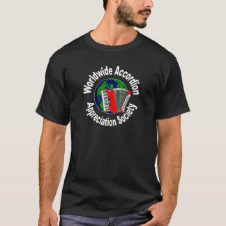 世界的なアコーディオンの感謝の社会 Tシャツ