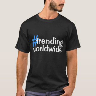 世界的に向くこと Tシャツ