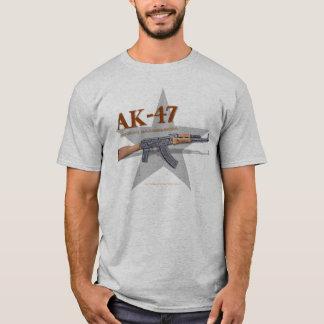 世界的のカラシニコフ自動小銃の自由の戦闘機 Tシャツ
