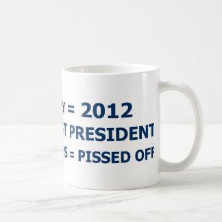世界終末および共和党員-白 コーヒーマグカップ