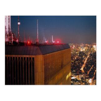 世界貿易センターライト ポストカード