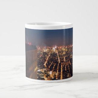 世界貿易センター屋根の上イブ ジャンボコーヒーマグカップ