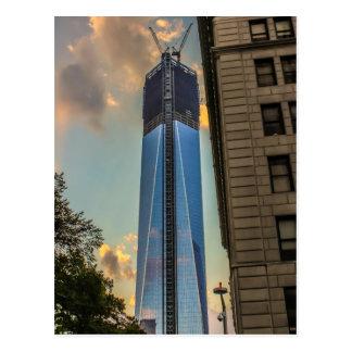 世界貿易センター自由タワーNYC ポストカード