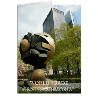 世界貿易センター記念物 カード