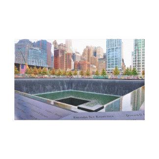 世界貿易センター記念物 キャンバスプリント