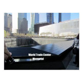 世界貿易センター記念物、ニューヨークシティ ポストカード