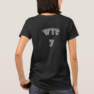 世界貿易センター7黒いTシャツ Tシャツ