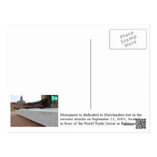 世界貿易センター、ボルティモア-郵便はがき ポストカード