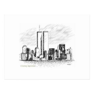 世界貿易センター ポストカード