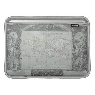 世界2の地図 MacBook スリーブ