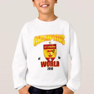 世界2010年のスペインのチャンピオン スウェットシャツ