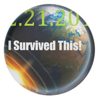世界2012年の端 プレート