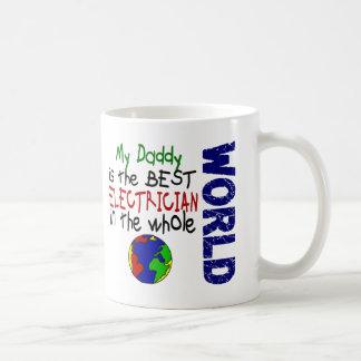 世界2 (お父さん)の最も最高のな電気技師 コーヒーマグカップ