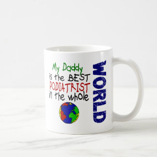 世界2 (お父さん)の最も最高のなPodiatrist コーヒーマグカップ