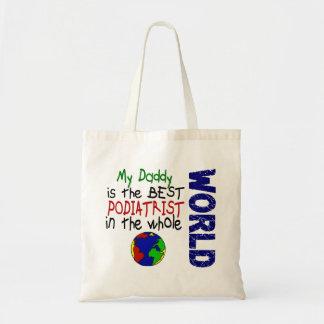 世界2 (お父さん)の最も最高のなPodiatrist トートバッグ
