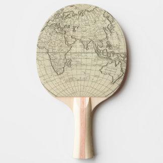 世界2 2の地図 卓球ラケット