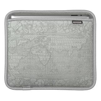世界5の地図 iPadスリーブ