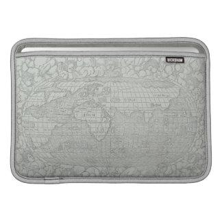世界5の地図 MacBook スリーブ