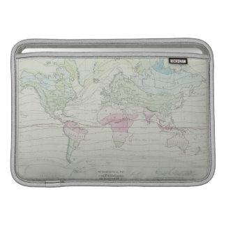 世界8の地図 MacBook スリーブ