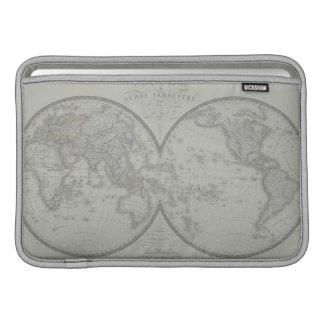 世界9の地図 MacBook スリーブ