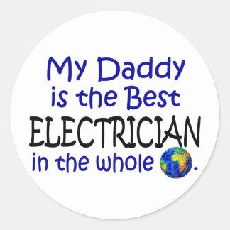 世界(お父さん)の最も最高のな電気技師 ラウンドシール