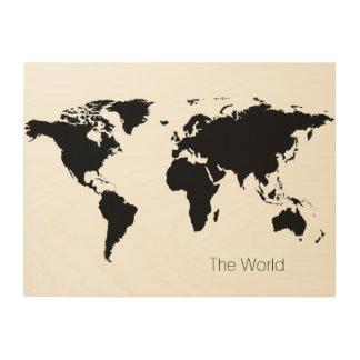 世界 ウッドウォールアート