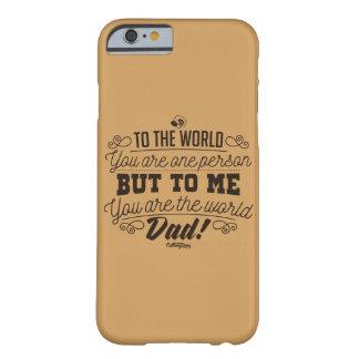 世界、パパです! Phonecase Barely There iPhone 6 ケース