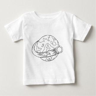 世界 ベビーTシャツ