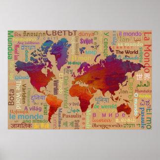 世界 ポスター