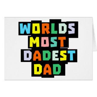 世界Dadestのほとんどのパパ カード