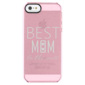 世界IPHONEの最も最高のなお母さん クリア iPhone SE/5/5sケース
