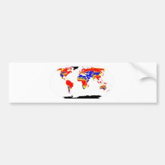 世界pH バンパーステッカー