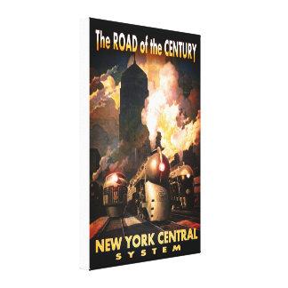 世紀のNYCの道 キャンバスプリント