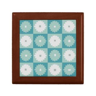 世紀半ばのモダンで幾何学的な花のギフト用の箱 ギフトボックス