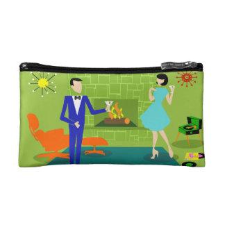 世紀半ばのモダンな化粧品のバッグ コスメティックバッグ
