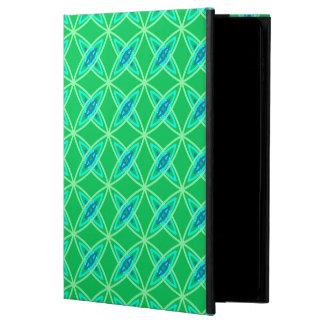 世紀半ばのモダンな原子プリント-ヒスイ緑 POWIS iPad AIR 2 ケース