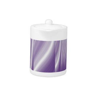 世紀半ばパターン金属紫色の薄紫ライン